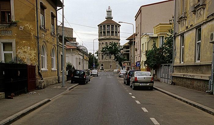 Bukarest Strada Zece Mese: Feuerwehrturm