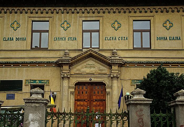 Bukarest Strada Icoanei: Schule