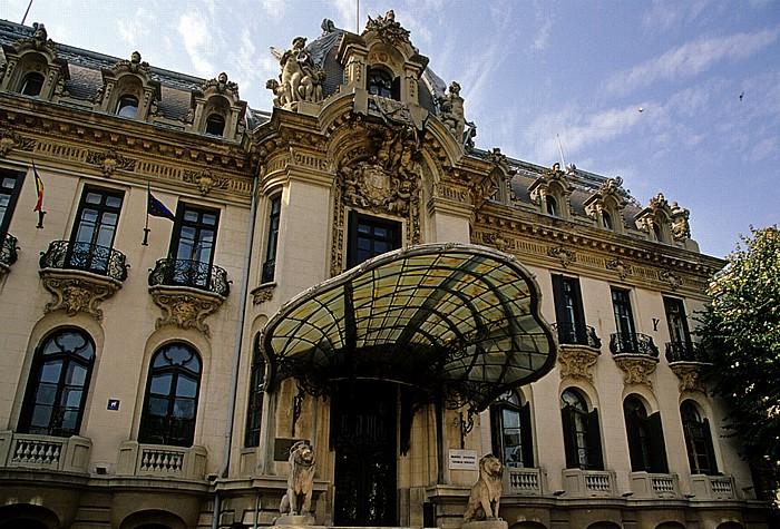 Bukarest Calea Victoriei: Palatul Cantacuzino