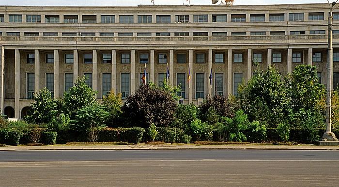 Bukarest Freiheitsplatz (Piata Victoriei): Palatul Victoria (Außenministerium)