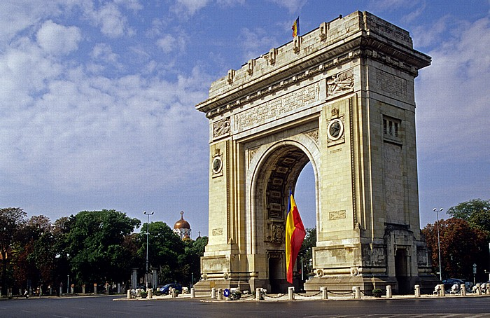 Bukarest Triumphbogen (Arcul de Triumf)