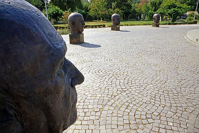Bukarest Herastrau-Park: Pantheon der europäischen Bewegung