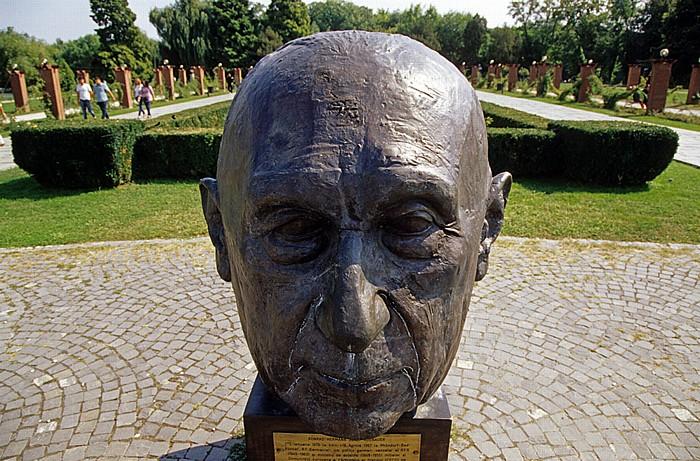 Bukarest Herastrau-Park: Pantheon der europäischen Bewegung: Konrad Adenauer