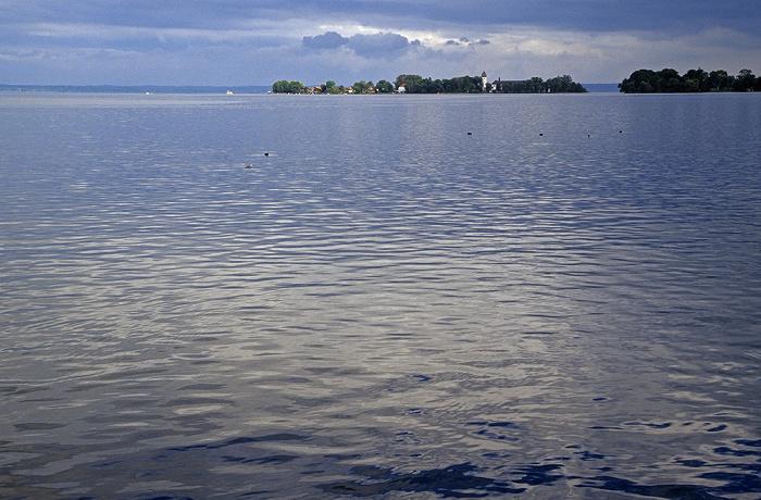 Chiemsee Frauenchiemsee und Krautinsel