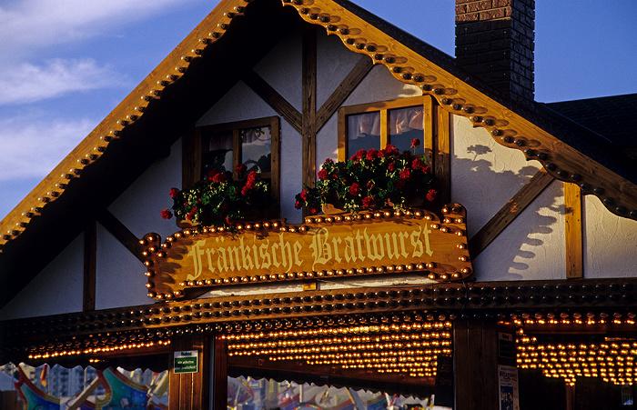 Theresienwiese: Oktoberfest mit einer Wurstbraterei München