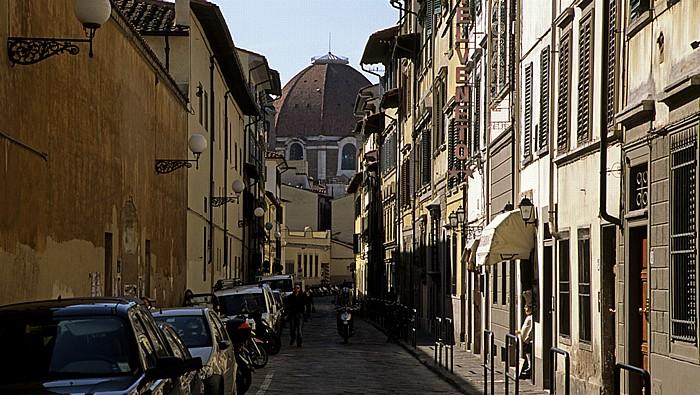 Florenz Via Santa Reparata Basilica di San Lorenzo