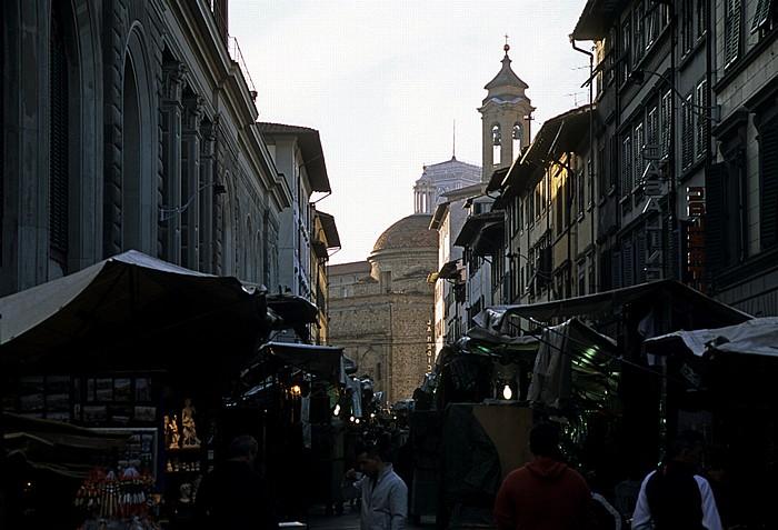 Florenz Via dell' Ariento Basilica di San Lorenzo Mercato Centrale