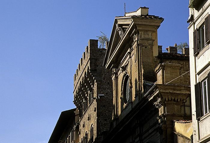 Florenz Torre dei Gianfigliazzi, Basilica di Santa Trinita