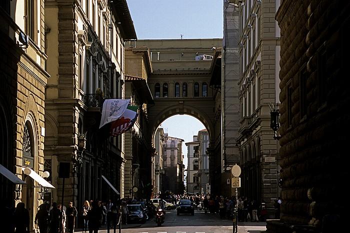 Florenz Via degli Strozzi, Arcone, Piazza della Repubblica