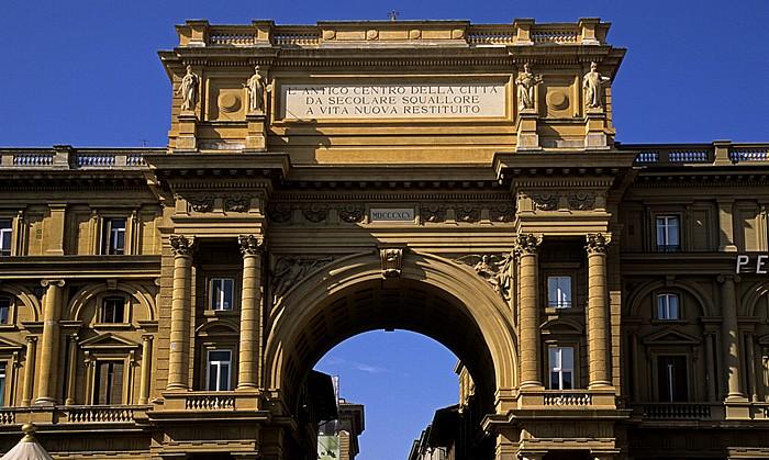 Florenz Piazza della Repubblica: Arcone