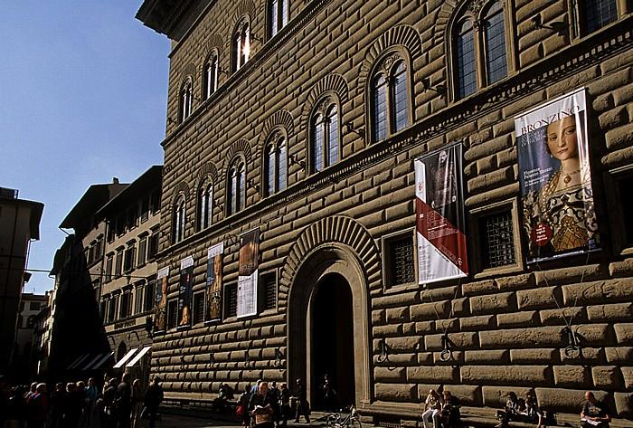 Florenz Piazza Strozzi, Palazzo Strozzi