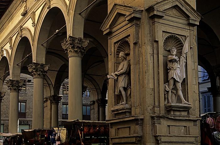 Florenz Loggia del Mercato Nuovo