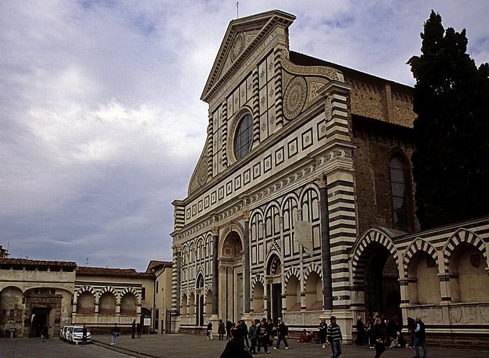 Florenz Piazza Santa Maria Novella, Basilica di Santa Maria Novella