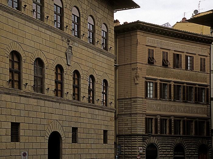 Florenz Palazzo Antinori (links), Palazzo Adorni Braccesi