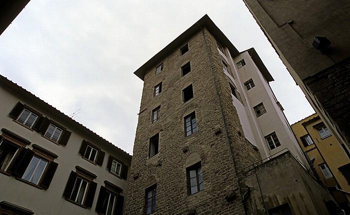 Florenz Piazza Santa Elisabetta: Torre dei Ricci