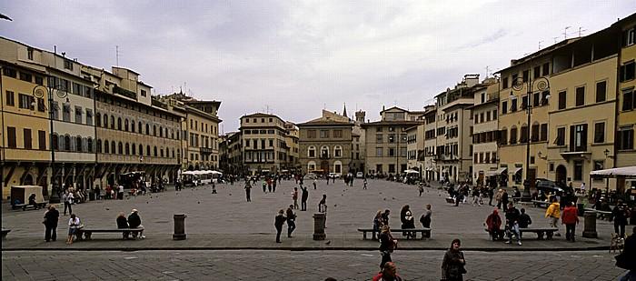 Florenz Piazza Santa Croce Palazzo Cocchi-Serristori Palazzo dell' Antella