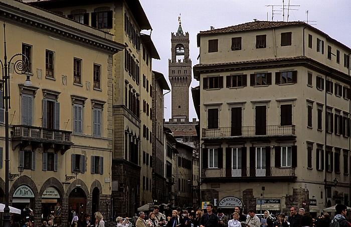 Florenz Piazza Santa Croce Palazzo Vecchio