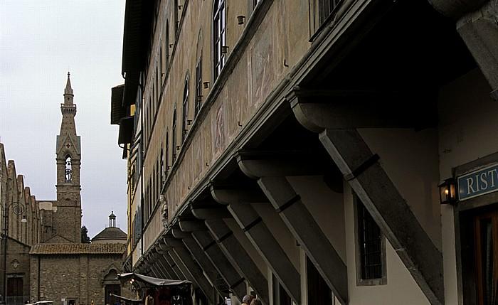 Florenz Piazza Santa Croce: Palazzo dell' Antella Basilica di Santa Croce