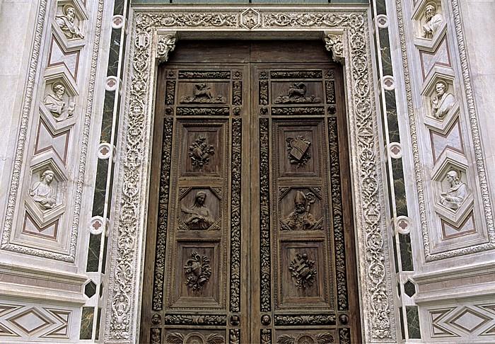 Florenz Basilica di Santa Croce: Hauptportal