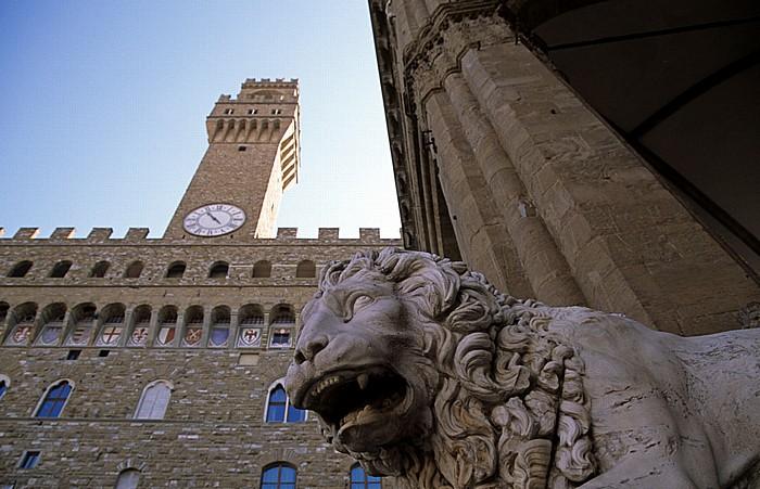 Florenz Loggia dei Lanzi (Loggia della Signoria), Palazzo Vecchio