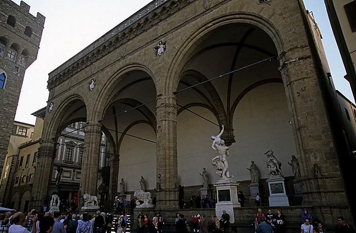 Florenz Loggia dei Lanzi (Loggia della Signoria)