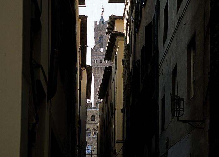 Florenz Via de' Cerchi, Palazzo Vecchio