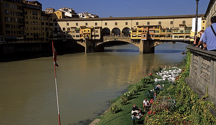 Florenz Canottieri Firenze, Arno, Ponte Vecchio