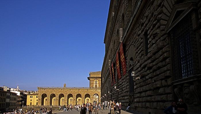 Florenz Piazza de' Pitti, Palazzo Pitti
