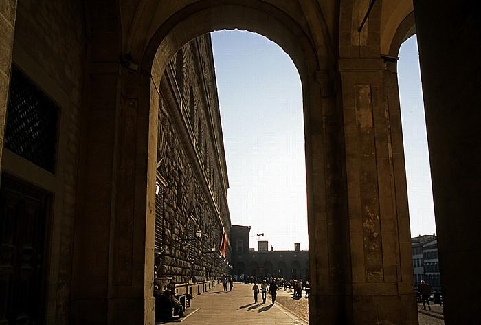 Florenz Palazzo Pitti, Piazza de' Pitti
