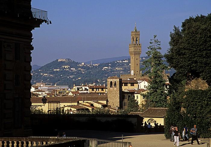 Florenz Boboli-Garten (Giardino di Boboli) Palazzo Vecchio