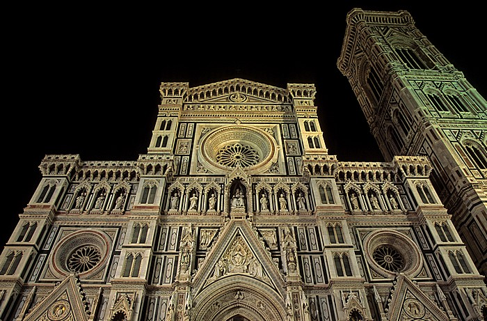 Florenz Florentiner Dom (Cattedrale di Santa Maria del Fiore) Campanile