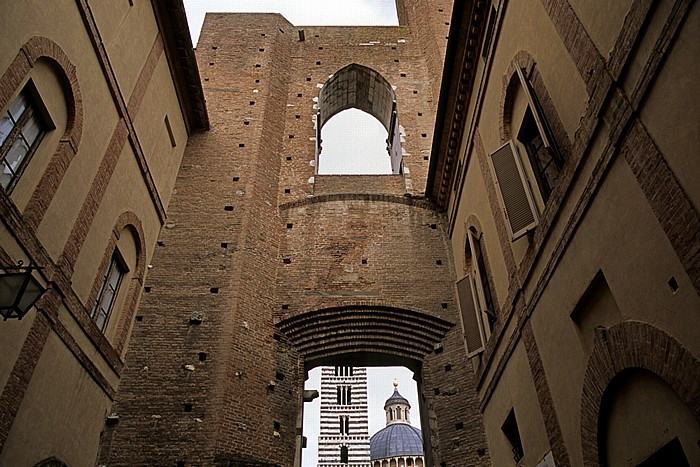 Siena Contrada de Aquila Dom