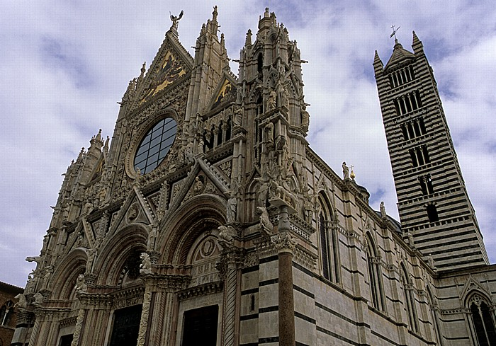 Siena Contrada de Aquila: Dom (Cattedrale di Santa Maria Assunta)