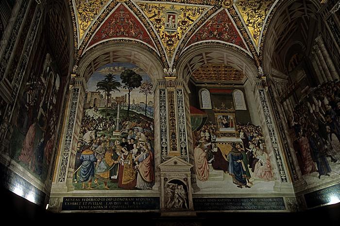 Siena Dom (Cattedrale di Santa Maria Assunta): Piccolomini-Bibliothek
