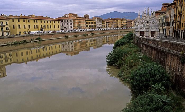 Pisa Arno Chiesa di Santa Maria della Spina Lungarni Pacinotti