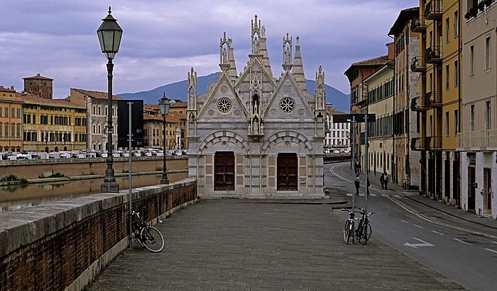 Pisa Chiesa di Santa Maria della Spina