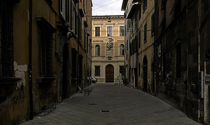 Pisa Via Serafini Palazzo della Sapienza