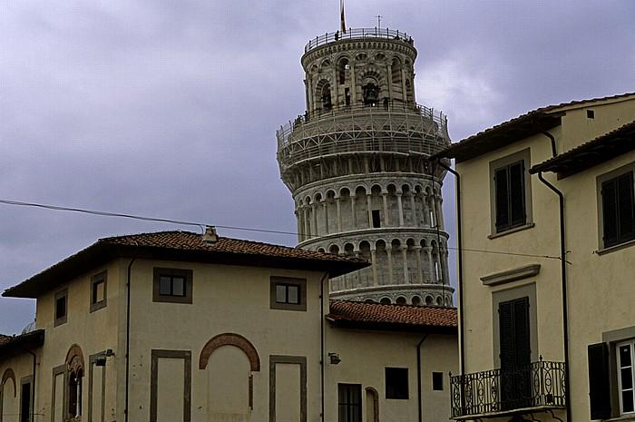 Pisa Piazza dell' Arcivescovado Campanile Schiefer Turm