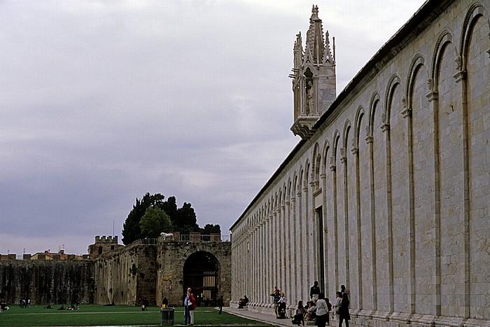 Pisa Piazza dei Miracoli (Piazza del Duomo): Camposanto Monumentale
