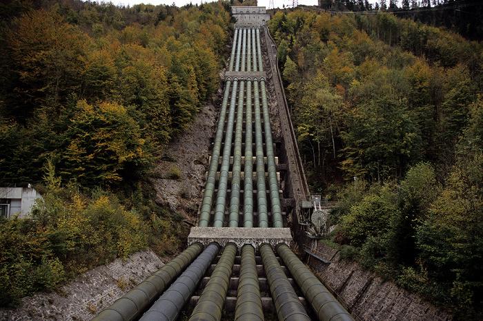 Kochel am See Walchenseekraftwerk: Rohrleitungen