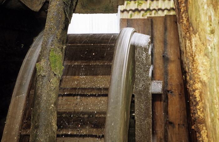 Großweil Freilichtmuseum Glentleiten: Mühlrad