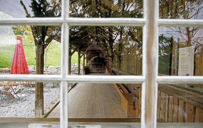 Großweil Freilichtmuseum Glentleiten: Kegelbahn
