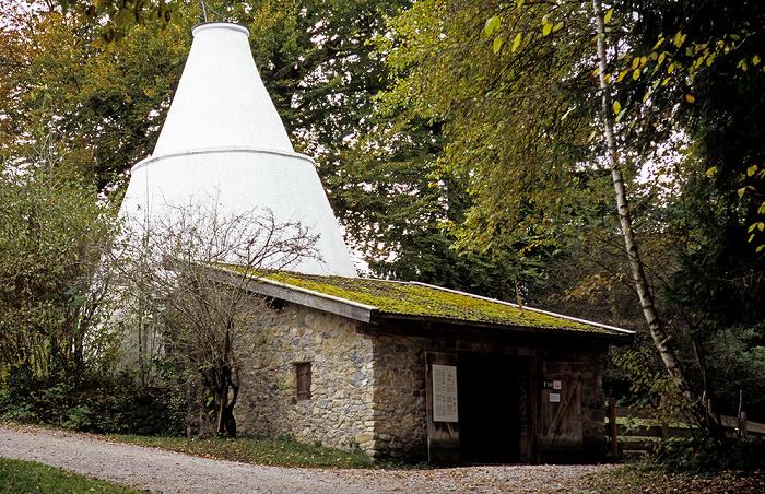 Großweil Freilichtmuseum Glentleiten: Köhlerei