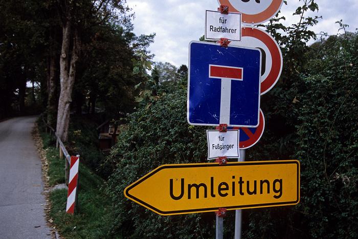 Murnau Verkehrsschilder