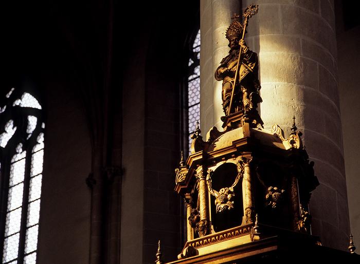 Ingolstadt Liebfrauenmünster (Münster Zur Schönen Unserer Lieben Frau): Kanzel