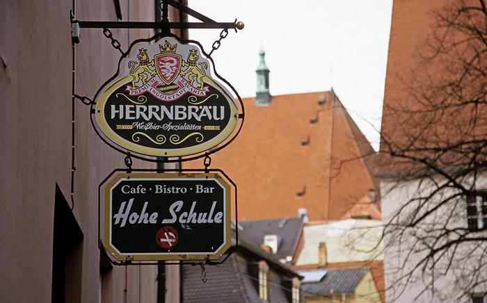Ingolstadt Gaststätte Hohe Schule Gaststätte Hohe Schule Liebfrauenmünster