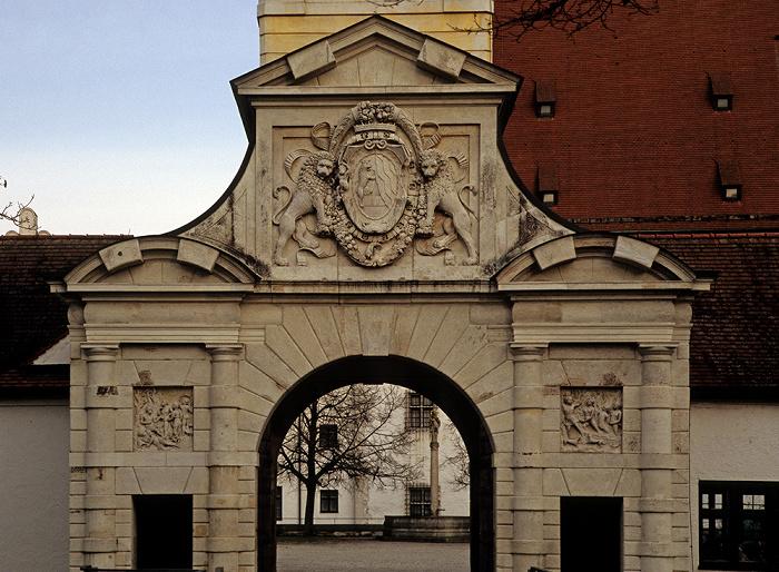 Ingolstadt Neues Schloss: Portal