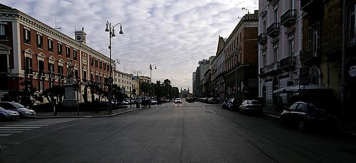 Bari Corso Vittorio Emanuele II Palazzo della Prefettura Teatro Piccinni