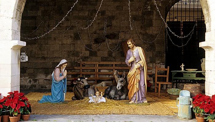 Bari Centro Storico: Piazza San Nicola - Weihnachtskrippe