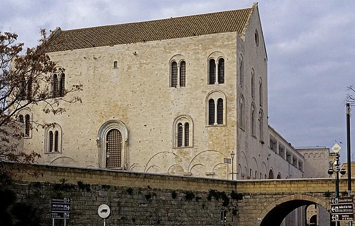 Bari Lungomare Imperatore Augusto Basilica di San Nicola Centro Storico